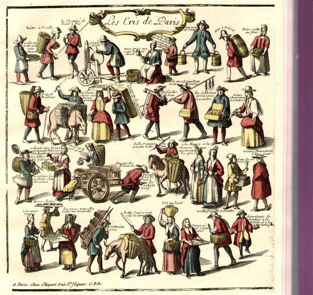 Gli strani mestieri dell'Ancien Régime