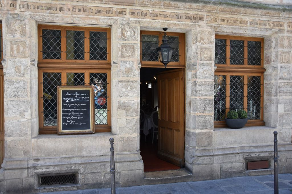 Ingresso della Maison Flamel