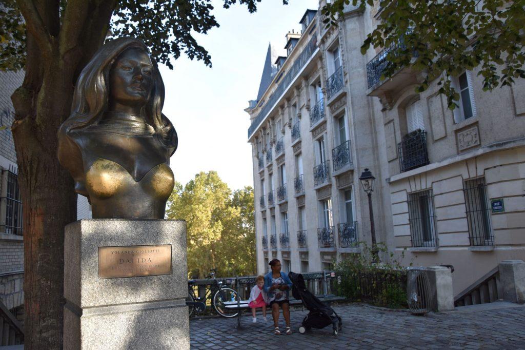 Montmartre, place Dalida