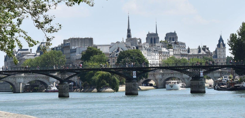 Parigi la romantica: il pont des Arts