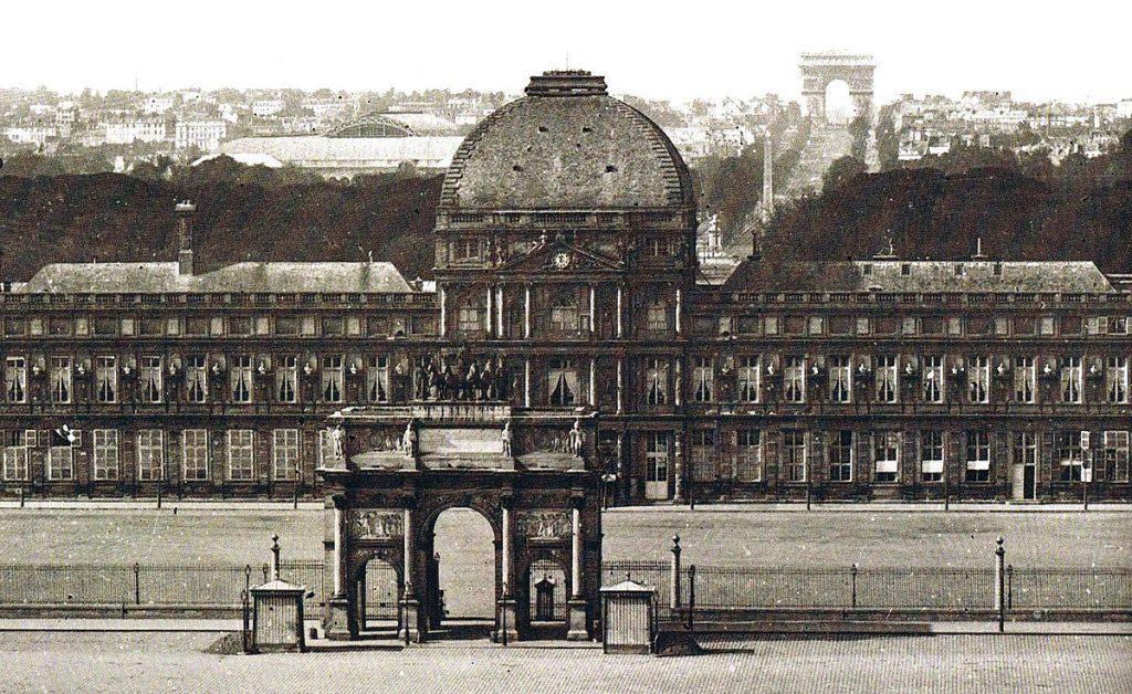 Ingresso principale del Palais des Tuileries