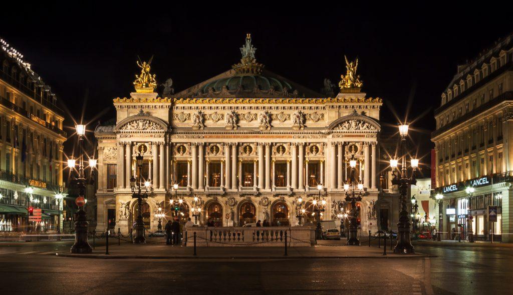 L'Opéra di notte