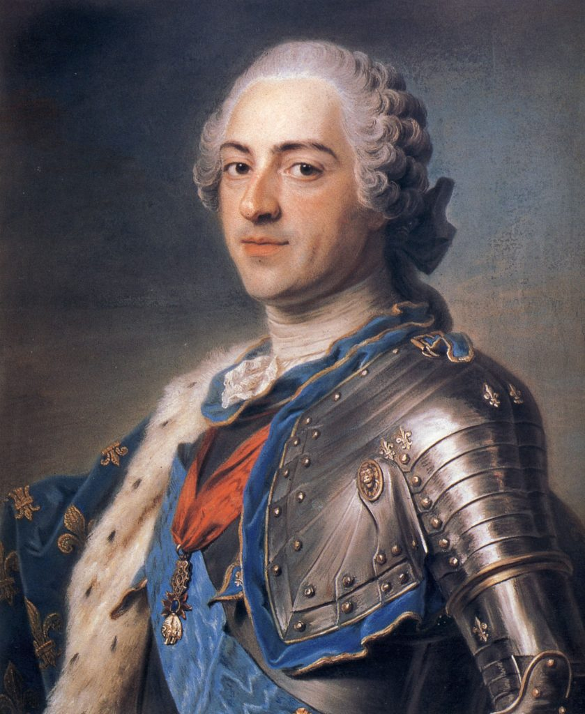 Il re Louis XV