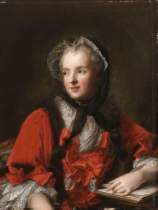 Marie Leczinska, moglie del re Louis XV