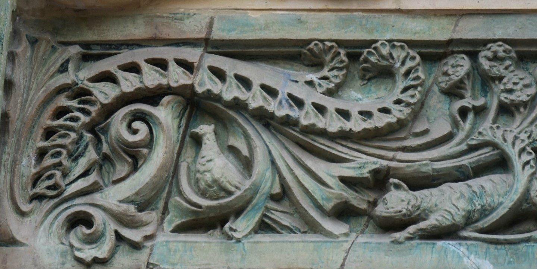 L'immeuble Lavirotte: eccentrica Art Nouveau