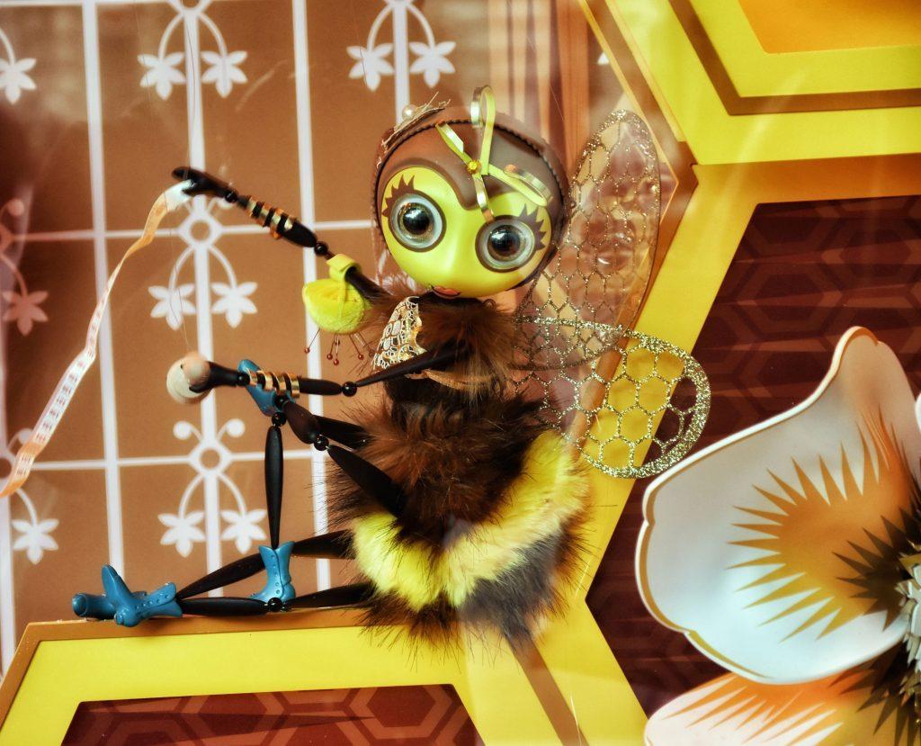 c'est parti: le api operose delle Galerie Lafayette