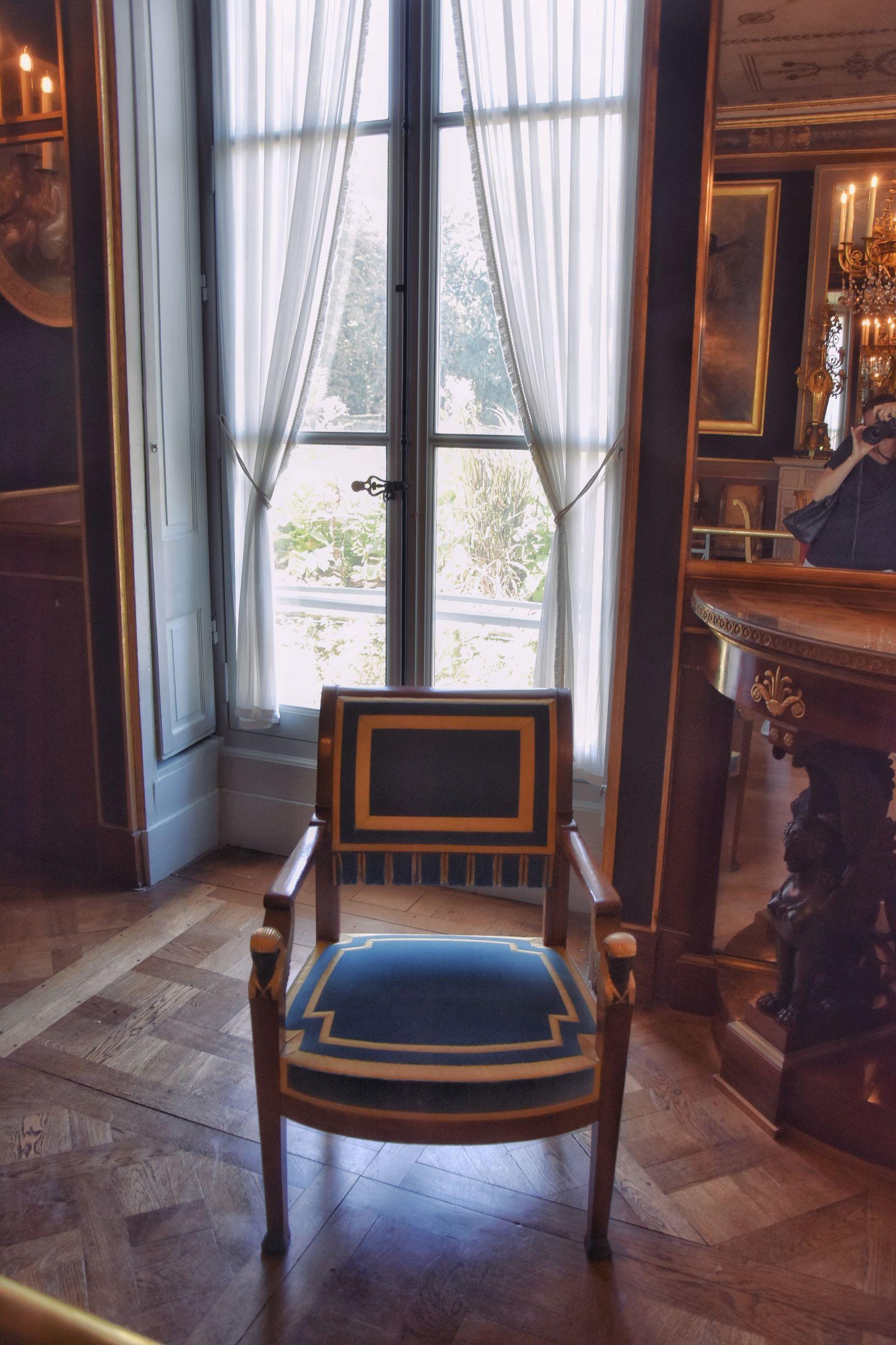 Interni dello château de Malmaison