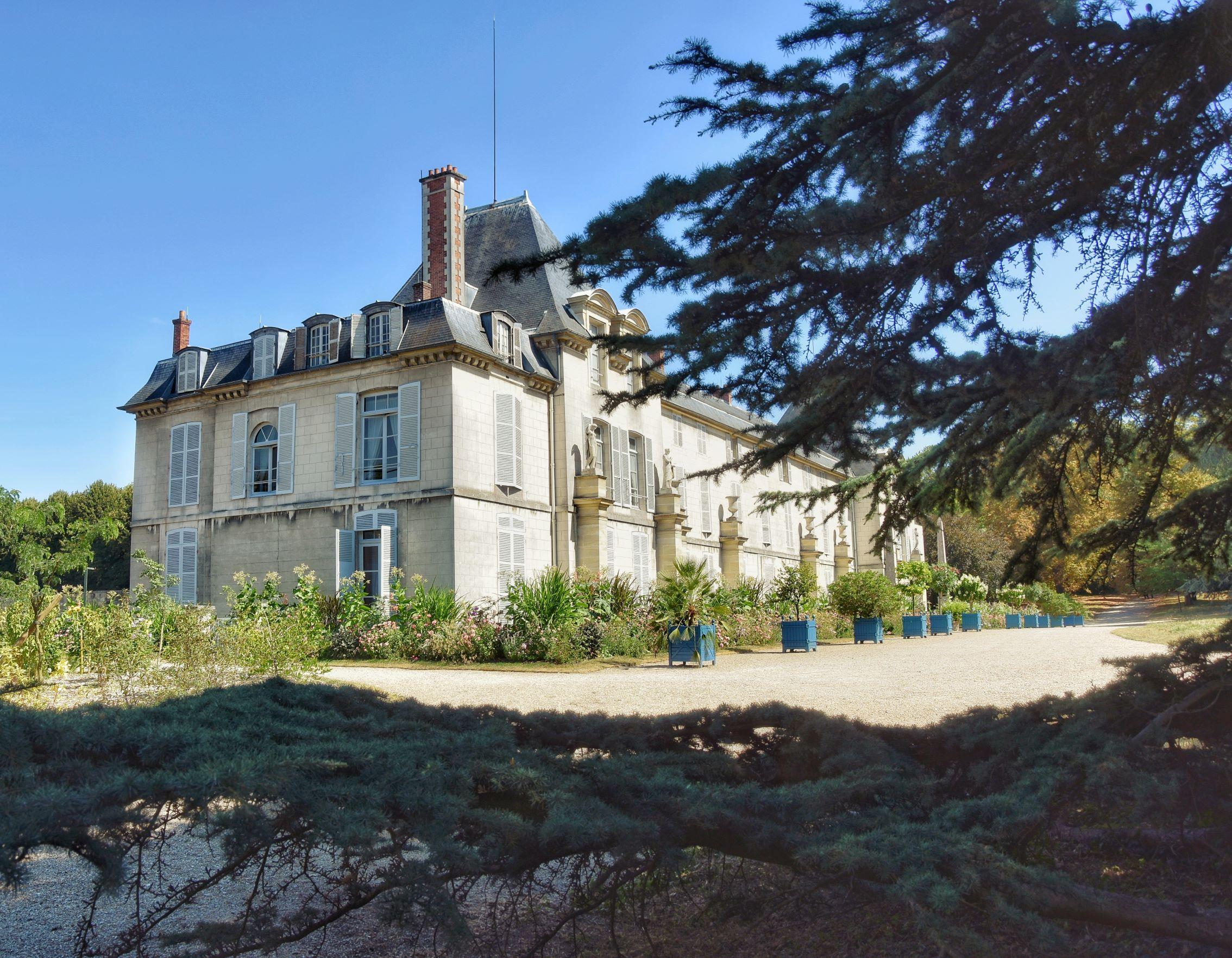 Lo château de Malmaison facciata posteriore