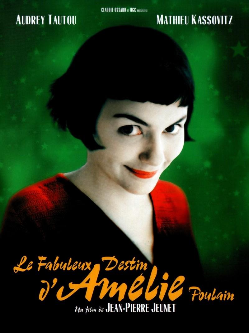 """Locandina del film """"Le fabuleux destin d'Amélie Poulain"""""""