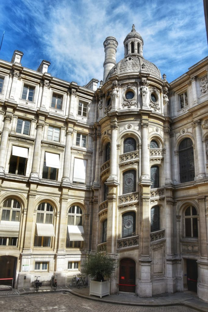 Corte interna dell'Hôtel de Ville