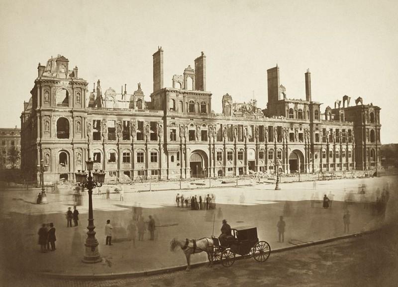 Dopo l'incendio del 1871