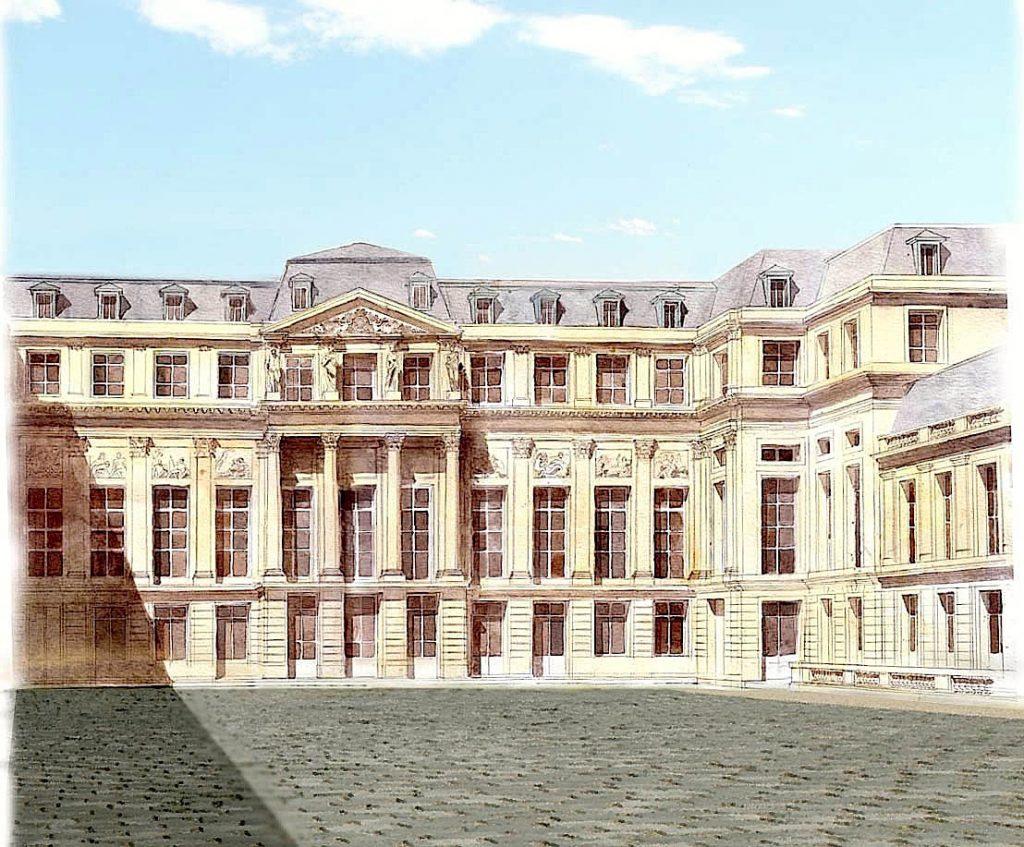 Ricostruzione del castello di Saint-Cloud