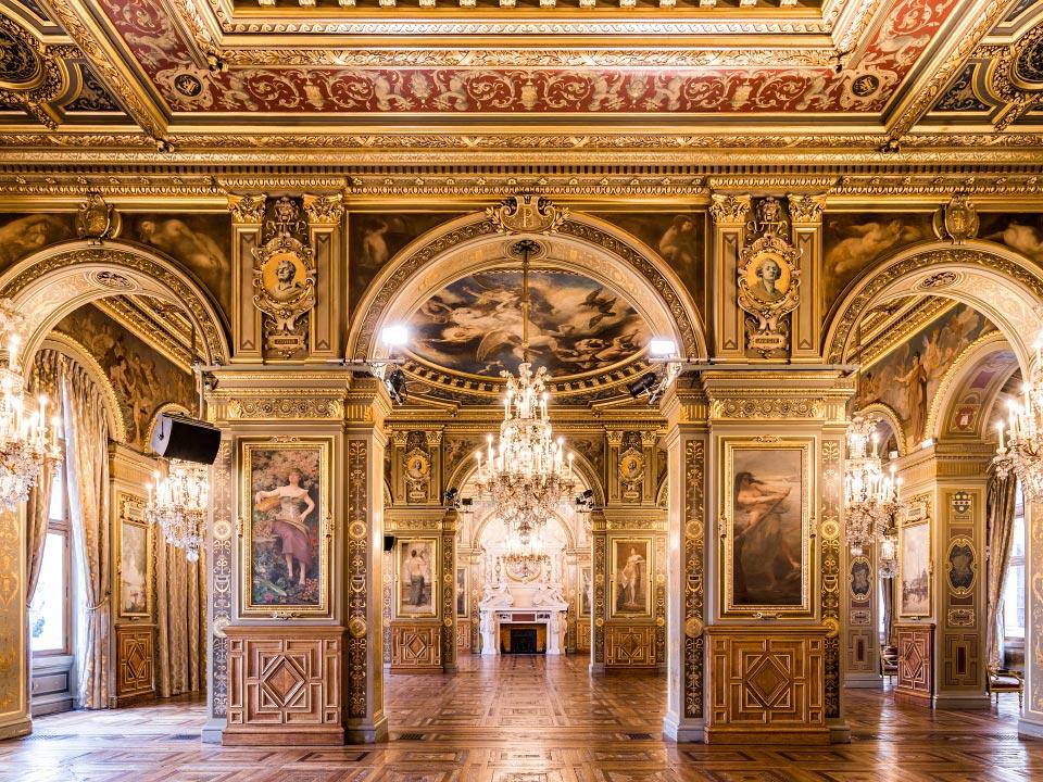 Salon des Arcades dell'Hôtel de Ville