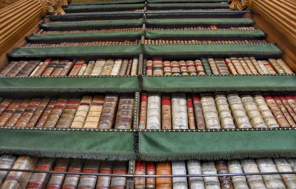 Antichi volumi della Bibliothèque Mazarine