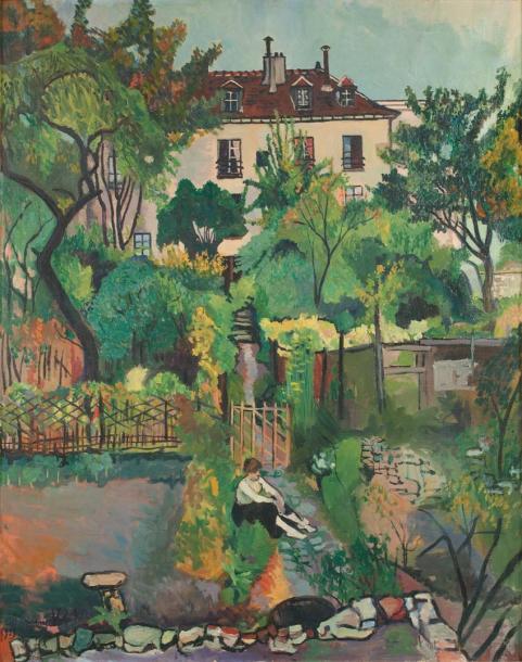 I giardini di rue Cortot dipinti da Suzanne Valadon