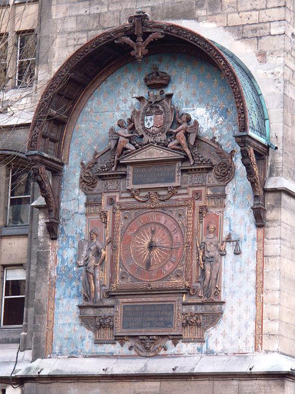 L'orologio prima del restauro