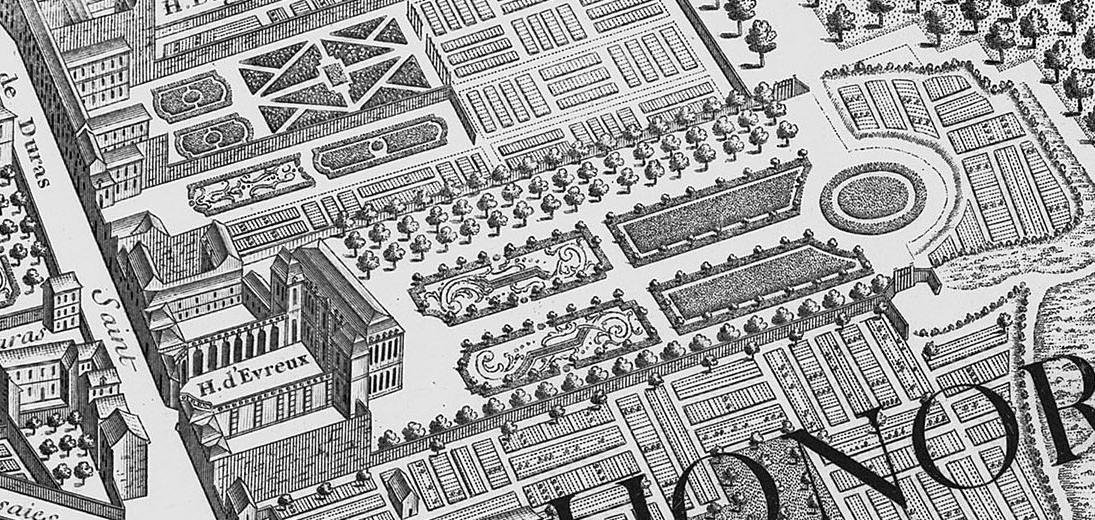 L'Élysée quando era ancora l'Hôtel del conte d'Evreux,