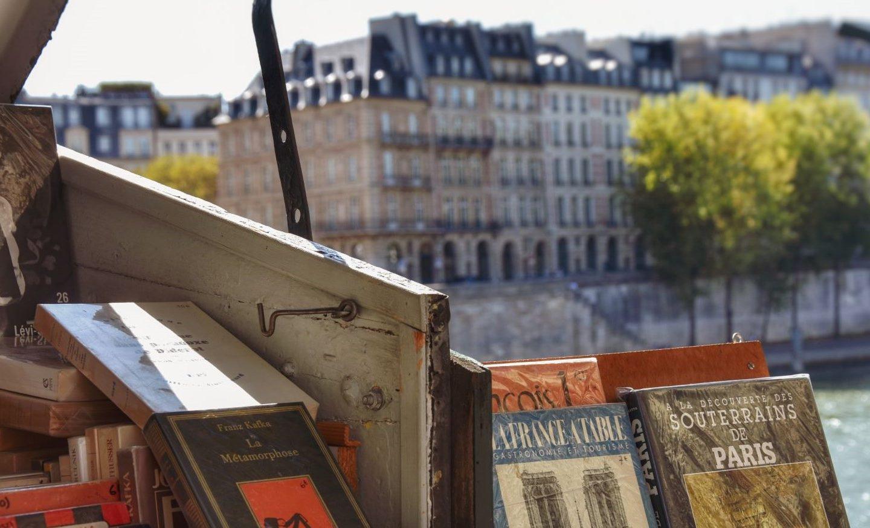 I bouquinistes, piccole librerie en plein air