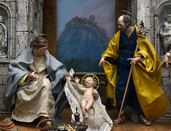Il Natale a Versailles: presepe napoletano