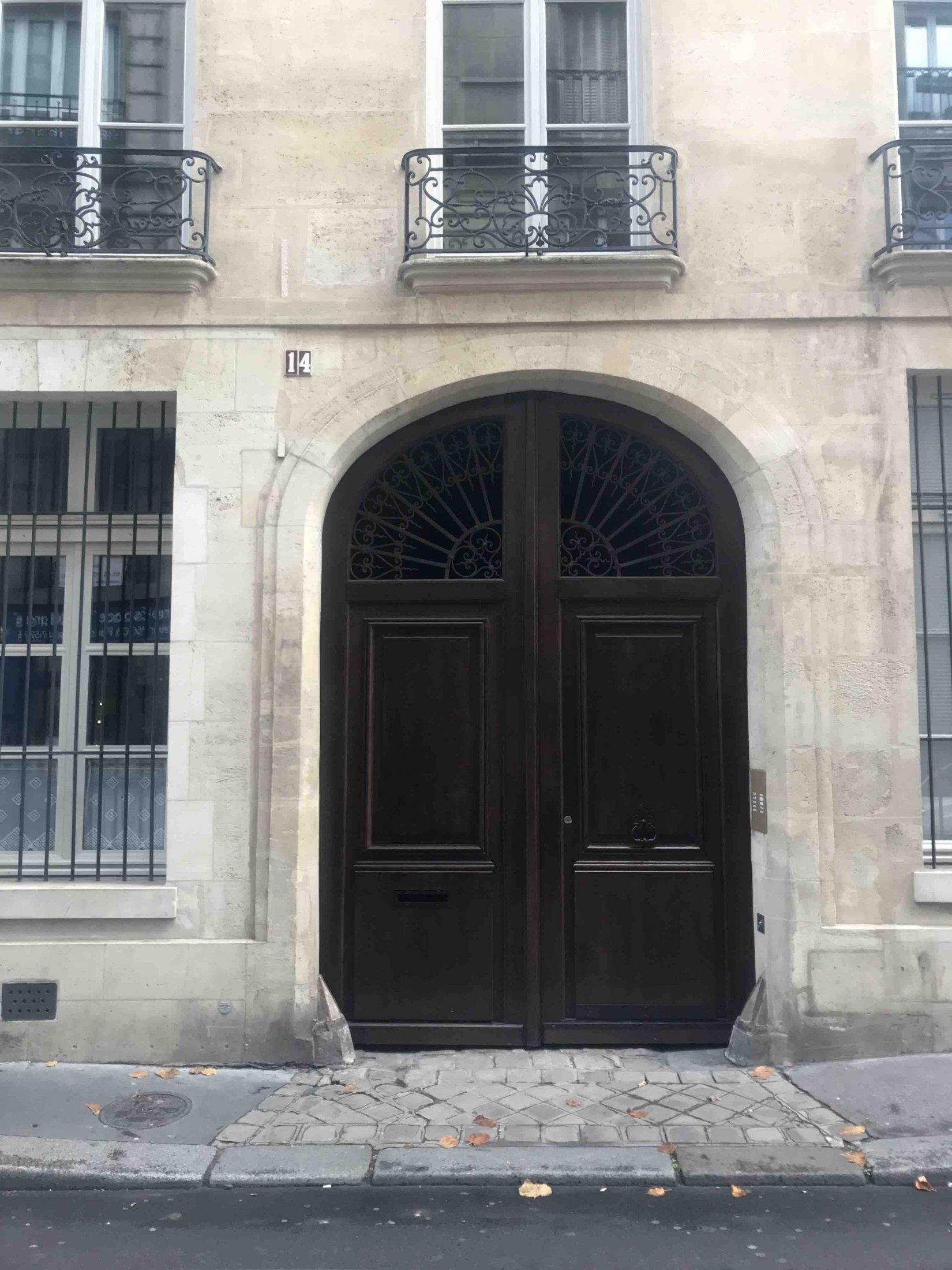 Marais, rue Elzévir