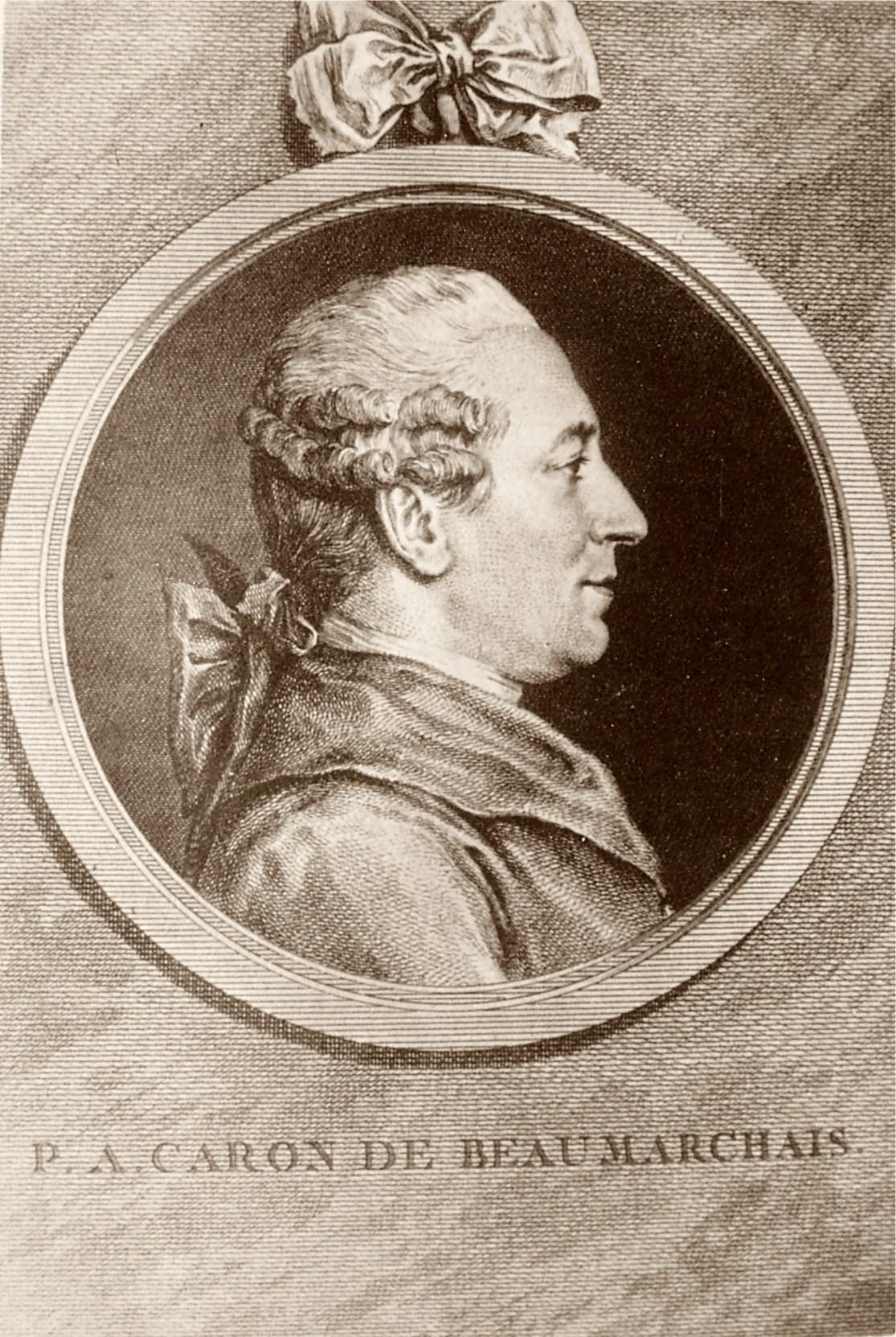 Ritratto di Beaumarchais