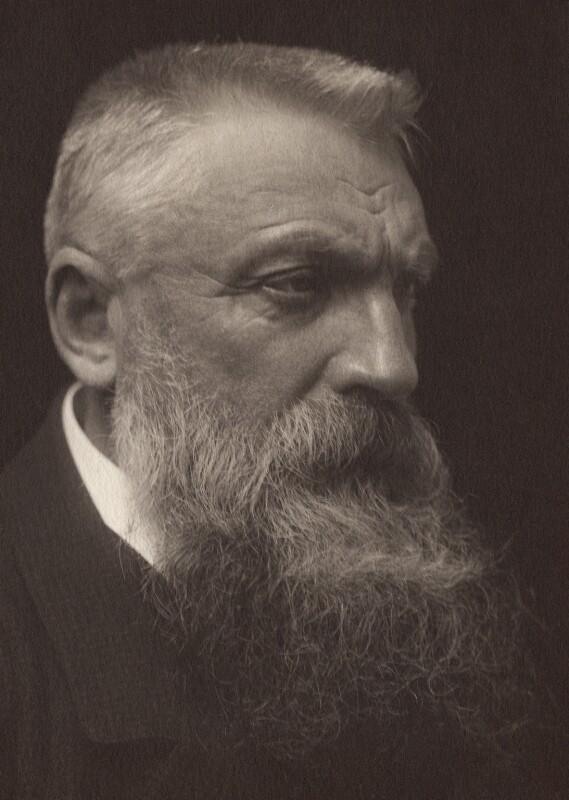 Ritratto fotografico di Auguste Rodin
