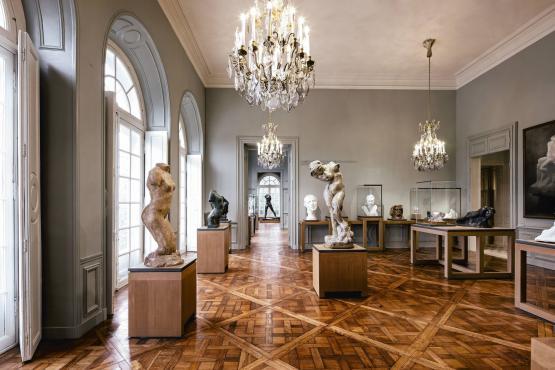 Hôtel Biron, sala del museo