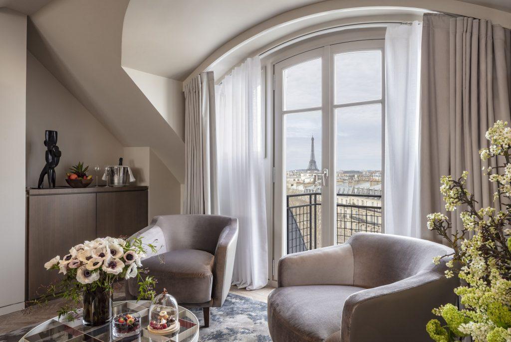La penthouse suite del Lutetia